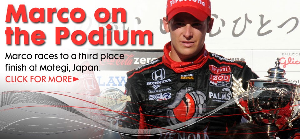 A Podium Finish at Motegi