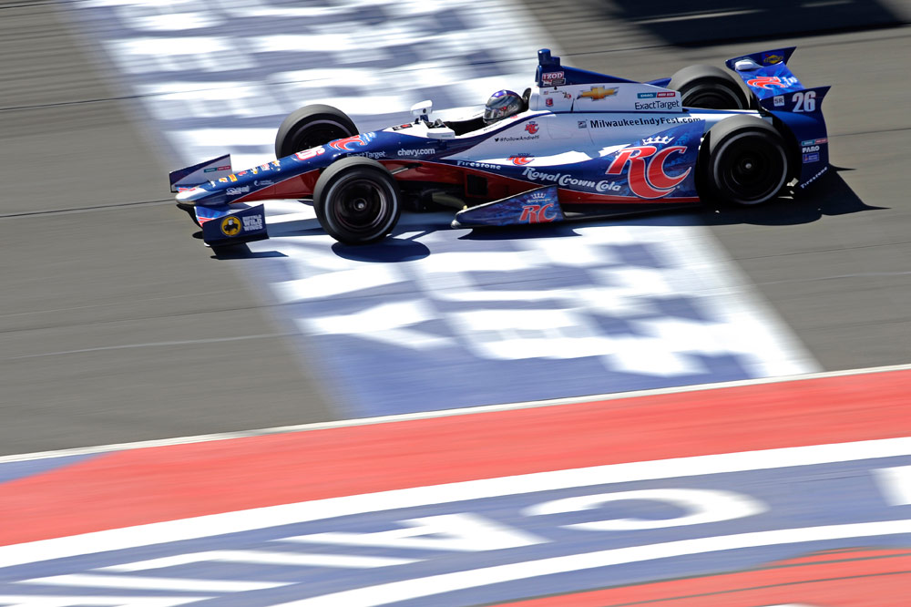 2012 : From Pole at Fontana :: Marco Andretti 2013 | IZOD Indycar ...