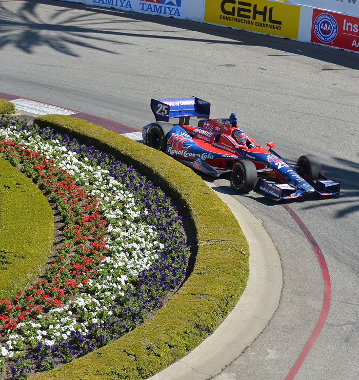 Super Seventh at Long Beach :: Marco Andretti 2013 | IZOD Indycar ...
