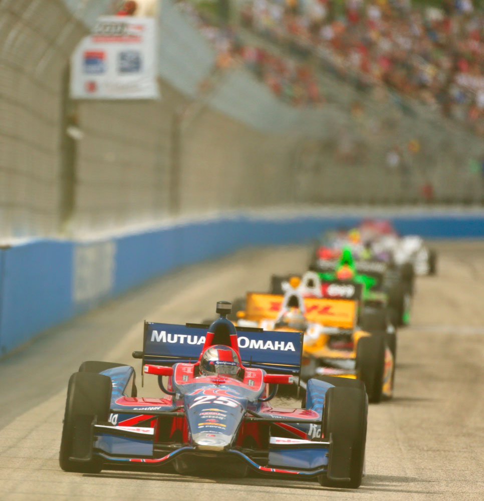 No Luck at the Mile :: Marco Andretti 2013 | IZOD Indycar Series ...