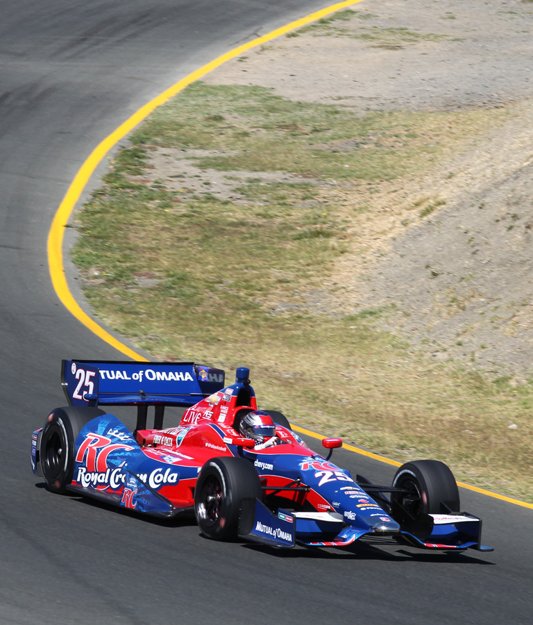 Fourth Place at Sonoma :: Marco Andretti 2013 | IZOD Indycar Series ...